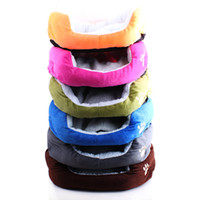 Wholesale Cashmere like soft warm Pet Cat Bed Pet Nest luxury Dog nest Luxury warm round Z00115