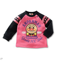anpanman clothes - Anpanman Children s Long Tees Shirts jersey Hot Sale boys clothes