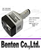 auto ac charging - llfa08 DC V to AC V Auto Car Power Converter Inverter Adapter Charger With USB Charge