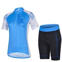 Wholesale 2015 blue ladies cycling jersey cheji team outdoor road wear short sleeve short cycling shorts