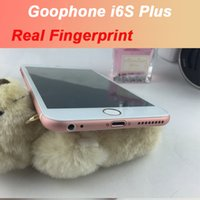 Wholesale 5 inch gophone i6s plus MTK6735 Quad Core LTE G MP MP Camera Screen Resolution Multi Colors Rose Gold Smart Phones
