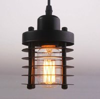 arte industrial - arte lamp E27 Industrial retro bar restaurant Iron creative personality chandeliers