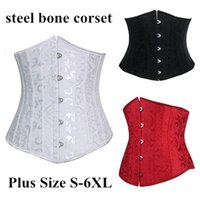 Wholesale Sexy Waist Training Corset Top Steel Bone Corsets Women Overbust Plus Size Corsets and Bustiers corpetes e espartilhos