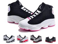 fabric for kids - New jordan Retro Kids Basketball Shoes Childrens J13s High Quality Sports Shoes Youth Basketball Sneakers For Sale Size US11C Y