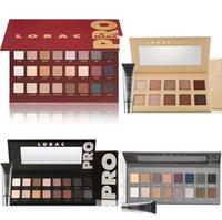Wholesale 1PC New MEGA LORAC PRO PALETTE color eyeshadow Powder Eyeshadow Blush Makeup Cosmetic Palette Eye Shadow Palette Mineral Eyeshadow