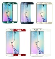 arc curve - S6 Edge Full Cover D Curved Screen Protector for Samsung Galaxy S6 Edge Plus G9280 Arc PET film with Package Not Tempered Glass