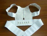 Wholesale Free DHL Power Magnetic Posture Support Corrector Back Pain Feel Belt Brace Shoulder Body Sculpting Slimming Adjustable