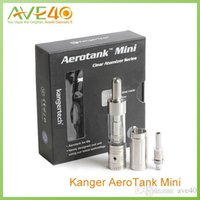 air valve control - Kangertech Aerotank Mini Tank E Cigarettes Aerotank Mini Upgraded Dual Coil Air Control Valve version ml Capacity Original Kanger