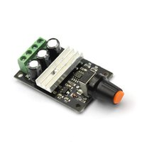 Wholesale Black PWM DC V V V V A Motor Speed Control Switch Controller Hot A2