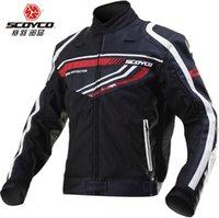 Wholesale Protective reflective motocross jacket motorcycle ride jacket winter automobile racing clothing dirt bike drop resistance jacket