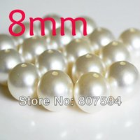 Wholesale 200pcs size mm New pearl jewelry European Ivory Color Imitation pearl Necklace Fashion Jewelry Gift For Women Wholesal B1mb8