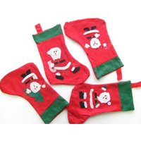 Wholesale M Christmas stockings Christmas stockings Yiwu classic variety of non woven fabric manufacturers custom Christmas Supplies
