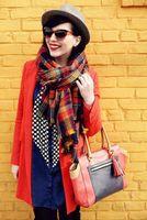Wholesale Christmas Party Price new2014Unisex Tartan Scarf Wrap Shawl Plaid Cozy Checked pashmina Lover clothes