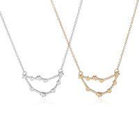 astrology capricorn - Min pc Capricorn Zodiac Sign Astrology Necklace Constellation Necklace for December Jjanuary birthday Necklace XL177