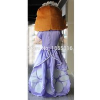 Cheap Wholesale-2015 Hot selling sofia the first princess costume sofia the first mascot costume 1pc