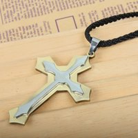 large cross jewelry - Vogue Religious Jewelry Large Cross Pendant Necklace Men Theme Series Boutiques W30335