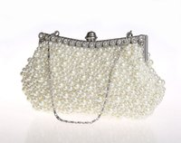 Where to Buy Cheap Bridal Clutches Online? Buy Champagne Satin ...