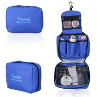 Wholesale New Travel Toiletry Bag Cosmetic Makeup Purse Organizer Hanging Wash Bag Holder Brand New High Quality