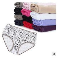 Wholesale New women everyday panties cotton underwear female briefs solid underwear knicker M L XL XL XL XL XL PLUS SIZE