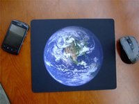 earthing mat - Earth image mouse pad cup mouse mat soft wrist rest size inches inches