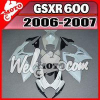 Wholesale In Stock Welmotocom Injection Mold Unpainted Unpolished Fairings For Suzuki GSXR600 GSX R GSXR K6 S66W00