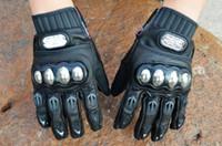Gros-cuir Moto Vélo Motocross Gants de sport d'eau / Dirt / huile Repellent