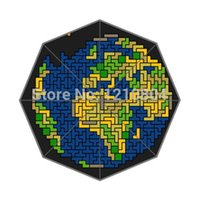 backgrounds games - Classic Game amp Tetris Background Printed Triple Folding Rain Sun Umbrella