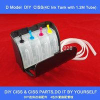 Wholesale Hot sale C Universal DIY CISS Full Black Elegant D Model Ink Tank with Ink Tube length is meters