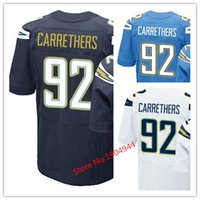 baby ryan - Factory Outlet Men s Ryan Carrethers Jersey Navy Baby Blue White Stitched Name And Number