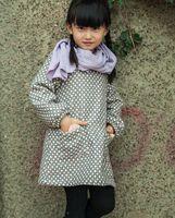 best dress dot - Children Round Neck Dress For Winter Best Quantity Girls Dot Dress Cotton Dress For Kids Fit Age SS312