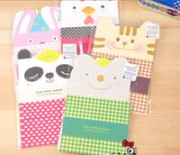 Papelería sobre de papel Baratos-Gratis envío, nueva historieta sobres carta papel lindo (2 unidades + 4 unidades) sistema / moda /Wholesale de papelería