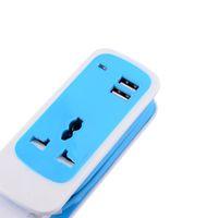 Wholesale FZ Multifunctional in Dual USB Universal Socket Blue White