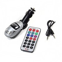 Wholesale New Car MP3 Player Foldable FM Transmitter radio Remote control usb disc sd card High Quality