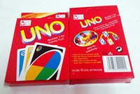 Wholesale UNO g Poker Card Standard Edition Family Fun Entermainment Board Game Kids Funny Puzzle Game g TK004a