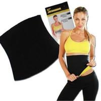 Moda unisex caliente neopreno Wrap Sauna cuerpo adelgazar Shaper Cintura Cuerpo Shaper Delgado Yoga Cinturón fitness Tops 00844