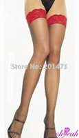 best legs pantyhose - Price promotion super deal leg wear new best selling sexy red knee high socks see through fashion pantyhose women