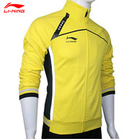Wholesale Men Badminton Table Tennis Jacket CHINA Nation Team Racing Suit Jacket Lining AWDE293