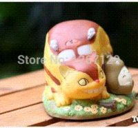 venda por atacado az box-Hayao Miyazaki Ghibli Meu Vizinho Totoro caixa caixas demônio do vento gato bus de relojoaria música az cobertura do barramento