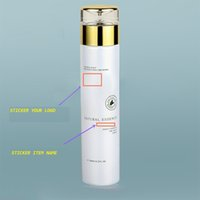 plastic bottles with lids - 120ml pearl white glass bottle with gold lid plastic stopper with neutral printing serum emulsion toner bottle