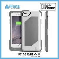 battery case iphone ifans - iFans Wireless Mobile Charging For iPhone iPhone PLUS mAh Li polymer Rechargeable Battery Case EL IP6