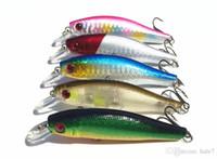 Cheap Fishing Minnow Lure Artificial Live Crankbait 8cm 8g Catch Fish Lures 0.5-1.5m 10pcs lot