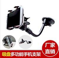 Parabrisas de Seguridad de Materiales del sostenedor del montaje móvil ventosa Lazy coche del teléfono celular Soporte Andamios Accesorios para Samsung HTC CR38