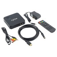 Wholesale MXV XBMC Android Smart TV BOX Quad Core Network Streamer Media Player HD Hot