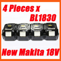 Wholesale 4 packs makita v Ah lithium compact battery BL1830 for power tool order lt no track