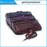 Wholesale wired keyboard backlight cf Limited edition mouse habergeons machinery gaming keyboard teethteats by DHL