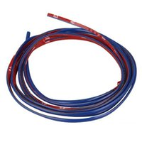 Wholesale x m Blue Car Grille Chrome Styling Decoration Moulding Trim Strip mm order lt no track