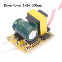 Wholesale New AC V LED Driver Supply x3W For High Power Light mA