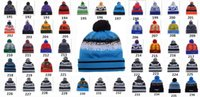 skull caps - 2015 Team Beanies Caps Pom Sports Hats Mix Match Order Teams All Caps in stock Knit Hat Top Quality Hat More Styles