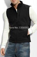 apex bionic vest - Fall Men Winter Autumn Fleece Apex Bionic SoftShell Vest Fashion Windproof Breathable Waterproof Sport Vest Waistcoat