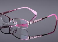 Wholesale The metal memory titanium alloy half frame glasses ultra lightweight Mens optical glasses frame factory direct